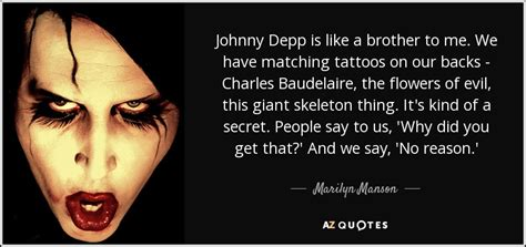 johnny depp baudelaire tattoo johnny depp s tattoos tattoo collections