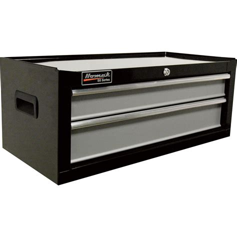 2 drawer tool cabinet homak se series 27in 2 drawer middle tool chest blk 26 1
