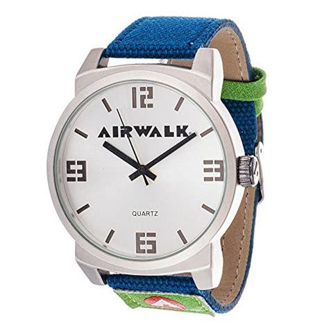 Airwalk Ean Black airwalk analog silver and blue canvas airwalk