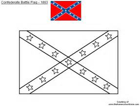 confederate flag colors coloring pages of confederate flag coloring pages for free