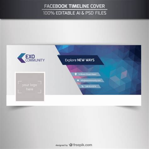 cover photo template psd cover vectors photos and psd files free