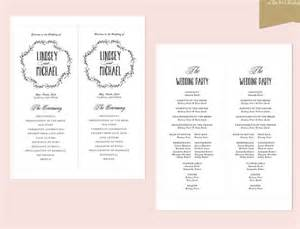 free wedding program templates for microsoft word wedding ceremony program template 31 word pdf psd
