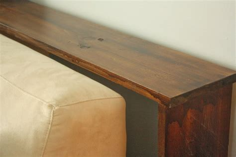 make a sofa table urbane jane simple diy sofa tables
