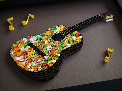 quilling guitar tutorial 58 best quilling music for the soul images on pinterest