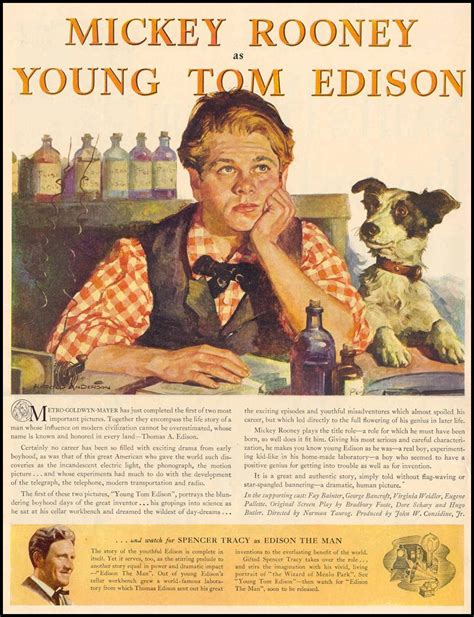 edison biography movie mickey rooney as young tom edison
