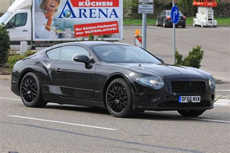 bentley camo next gen bentley continental gt latest spyshots less camo