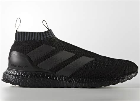 adidas ace 16 purecontrol ultra boost shoes chequered black black equipment football