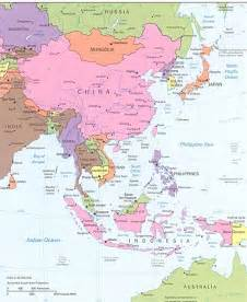 South East Asia Physical Map by Southeast Asia Physical Features Map Pokemon Go Search
