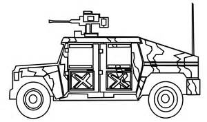 free jeep coloring pages print