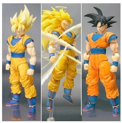 Ng059 Shf Figuarts Goku Z Saiyan 3 Datong Model sell datong shf z saiya goku figure ss3 ss1 black hair goku