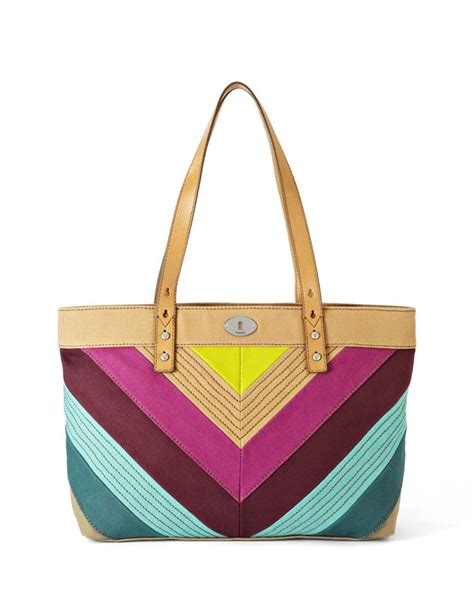 Fossil Shopper Big Stripes 41 best the it bag images on couture sac