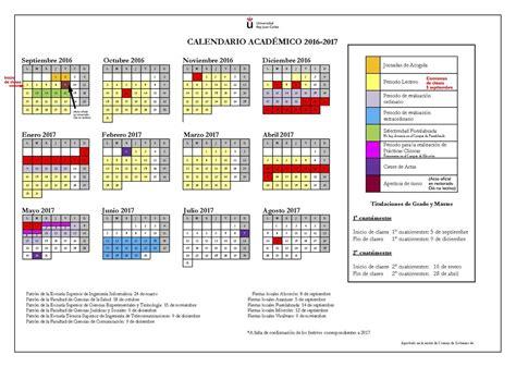 Calendario Urjc Adelina Grava Adelinagrava