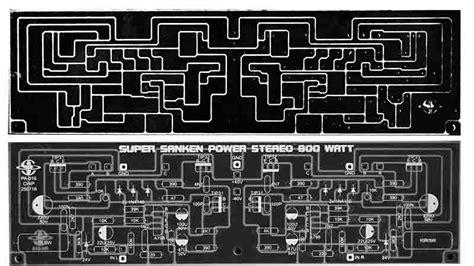 layout pcb yiroshi electronic circuit