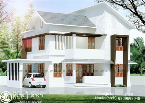 1900 square modern 4 bhk home kerala home design and floor plans 1700 sq ft contemporary floor 4 bhk home design