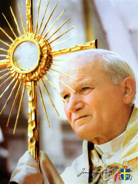 Saint John Paul II with Monstrance (P4 5318 1000245)   Catholic Online Bookstore in Philippines