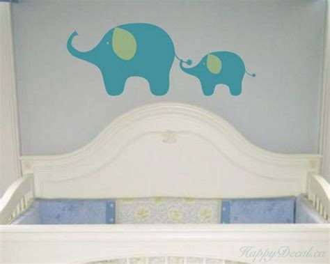 elephant wall decals for nursery elephants wall decal animal stickers for nursery