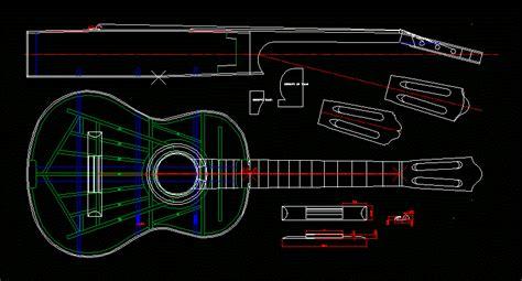 guitar  autocad cad   kb bibliocad