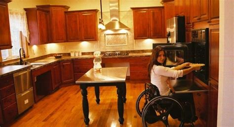 Disabled Kitchen Design Disabled Kitchen Design Accessible Houses 187 Accessible