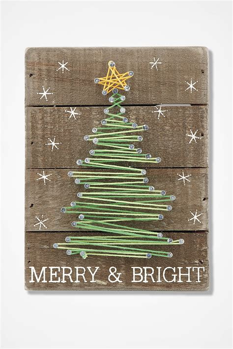 oh christmas string folk art merry and bright string coldwater creek
