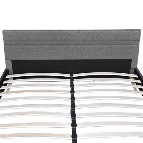 bett kopfende bett mit kopfende mit led licht 200 x 140 cm stoffbezug