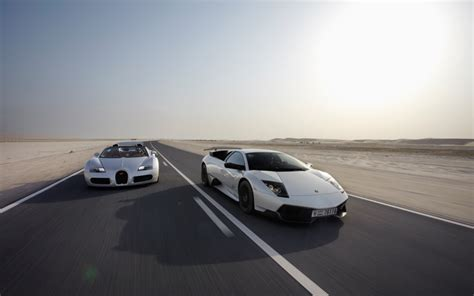 What Is Faster A Lamborghini Or Bugatti Bugatti Veyron 16 4 Grand Sport Vs Lamborghini Murcielago