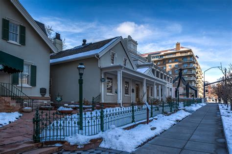 beehive house temple square and the history of salt lake city gate to adventures