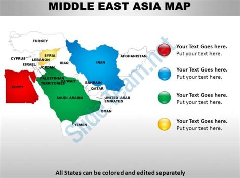 middle east map design middle east asia continents powerpoint maps powerpoint