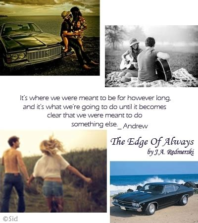 the edge of always the edge of always the edge of never 2 by j a