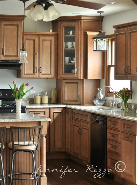 wooden cabinets kitchen kitchen lights counters cabinets love it all for the