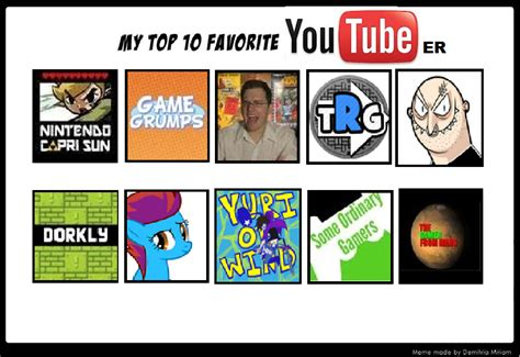 Top Ten Best Memes - top 10 youtuber meme by alexthepurplekirby on deviantart