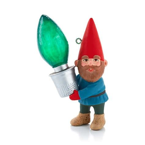 hallmark 2013 gnome for christmas ornament revealed at
