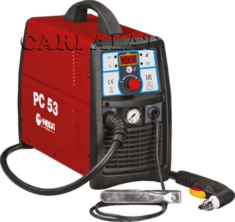 Cutting Pemotong Besi jual mesin pemotong besi plasma cutting helvi pc 53 harga murah surabaya oleh cv abadi baru mandiri