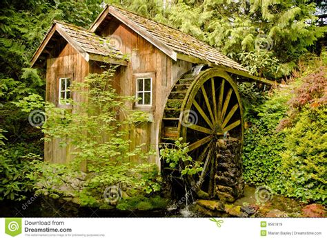 Mills To With The by Mill On Stock Image Image Of Moss Green
