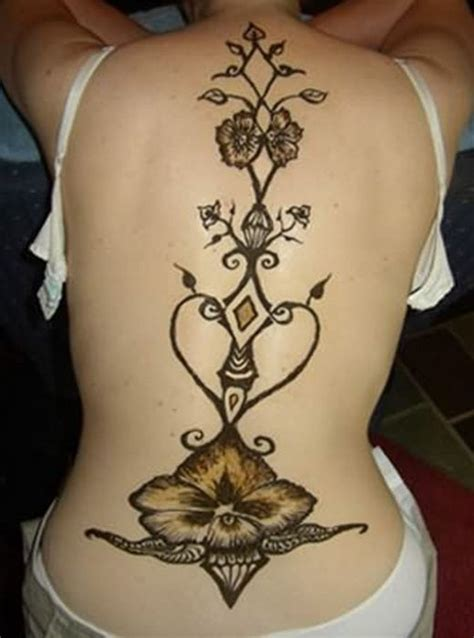 henna tattoo vermont orchid tribal back tattoos designs and meaning for