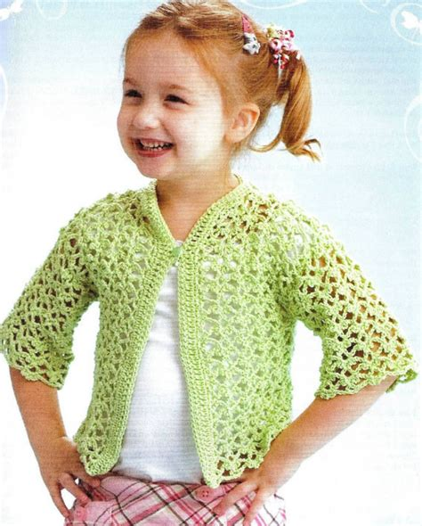 crochet pattern lacy jumper crochet lacey cardigan vintage pattern toddler