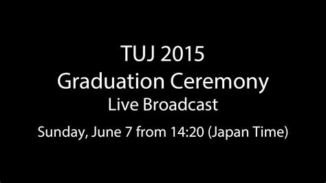 Temple Executive Mba Tuition by Graduation 2015 Temple Japan Cus