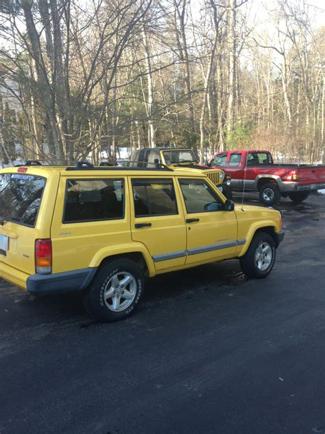 jeep cherokee yellow overland build yellow jeep xj jeep cherokee forum