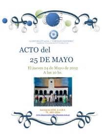 discurso de docente acto 25 de mayo glosas para nivel inicial del acto del 25 de mayo
