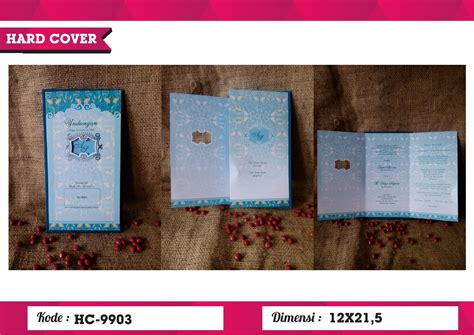 Undangan Pernikahan Dan Khitanan Erba Hc 9912 undangan cover erba hc 9903 erba cover juragansouvenir
