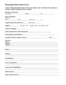 Fill In Obituary Template by Fill In The Blank Obituary Template Fill