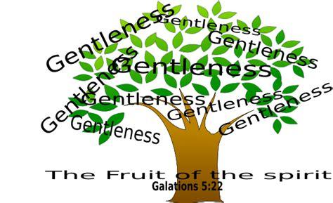 fruit of the spirirt clip at clker vector clip tree gentleness clip at clker vector clip