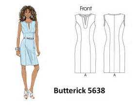 pintucks sheath dress patterns for beginners easy to sew part 2