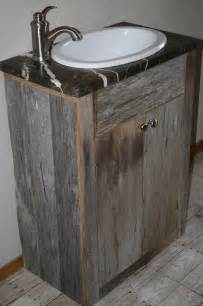 rustic wood bathroom vanity 30 exles of the reclaimed wood vanity