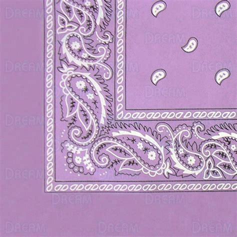 Bandana Reguler bandana folded regular lilac world products