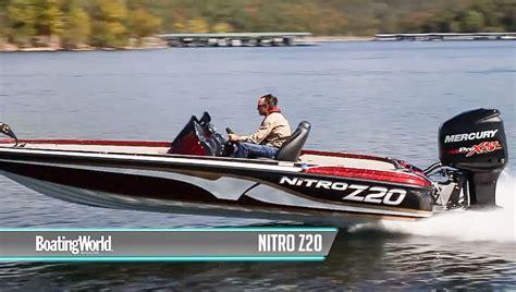 bass pro boat life jackets nitro z20 boat test youtube