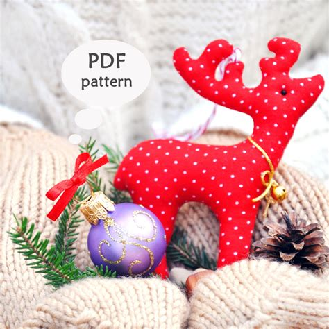sewing pattern reindeer reindeer sewing pattern christmas sewing projects deer