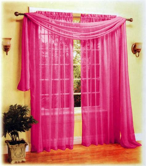 sexy curtains 3 pieces sexy sheer voile window curtain panels scarf set