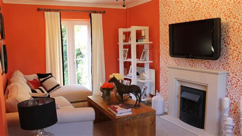 terracotta walls living room leatherhead makeovers 60 minute makeover