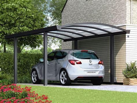 Single Carport by Single Arched Aluminium Carport