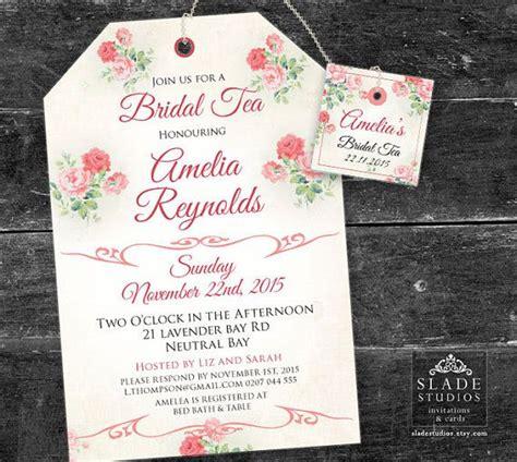 creative mad hatter tea party bridal shower invitation wording